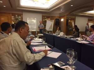 Steve Rood, member of the Third Party Monitoring Team (TMPT) and Director of The Asia Foundation, discusses the normalisation process. (Manila, Dec 13)