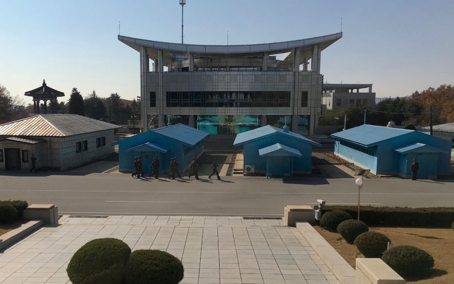 CPCS in Pyongyang and the Demilitarised Zone